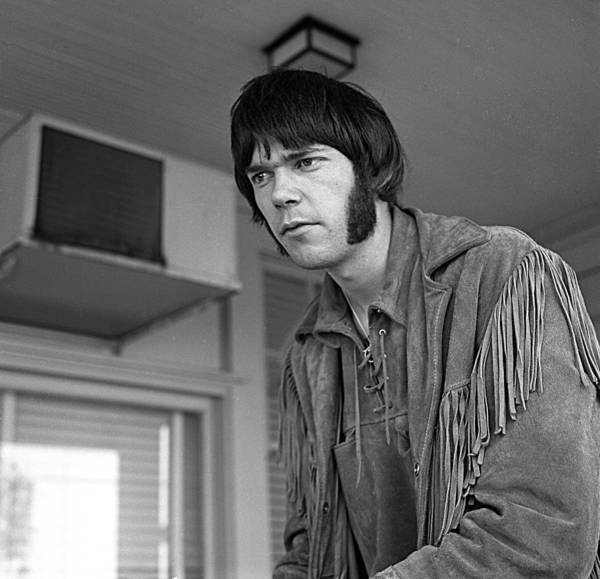 Neil Young Photograph - In Los Angeles by Michael Ochs Archives