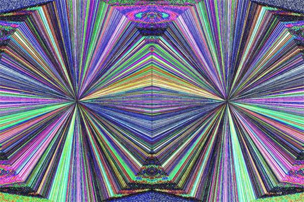 Wall Art - Digital Art - In Sync 2 by Will Borden