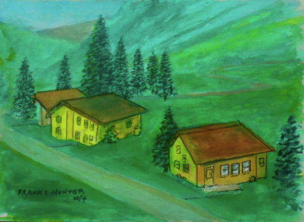 Painting - In The Austrian Alps by Frank Hunter