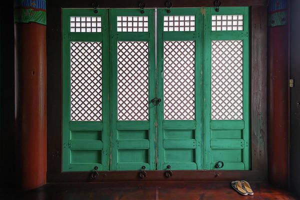 Photograph - In The Buddhist Temple by Rick Berk