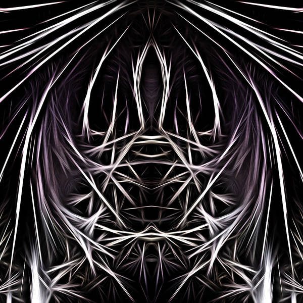 Digital Art - In The Darkness Bind Them by Jeff Iverson