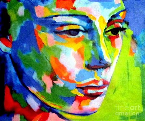 Painting - In The Depths Of Her Eyes by Helena Wierzbicki