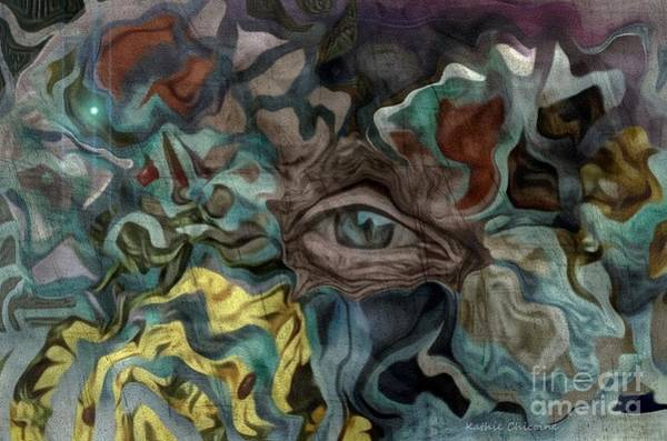 Digital Art - In The Eye Of The Beholder by Kathie Chicoine