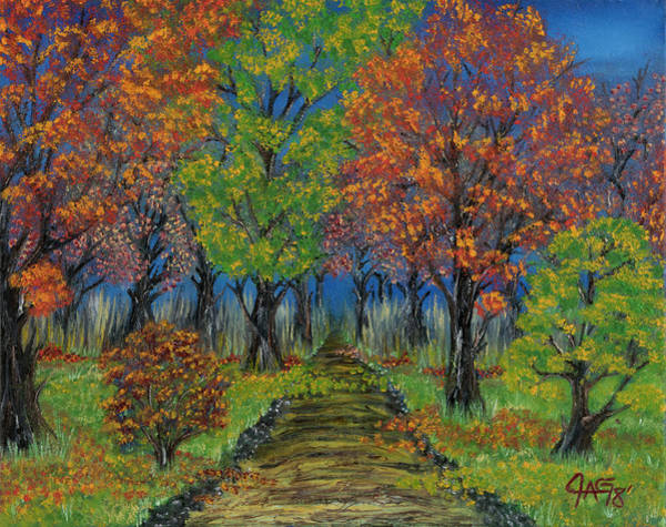 Painting - In The Fall by The GYPSY