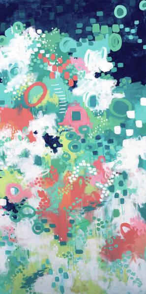 Wall Art - Painting - In The Flower Fields II by Sue Allemond