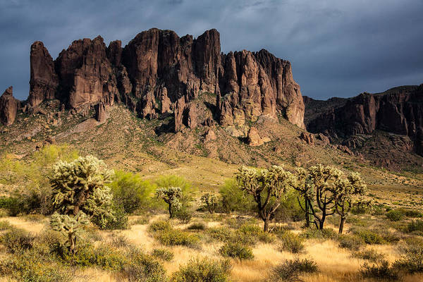 Photograph - In The Foothills Of The Superstitions  by Saija Lehtonen