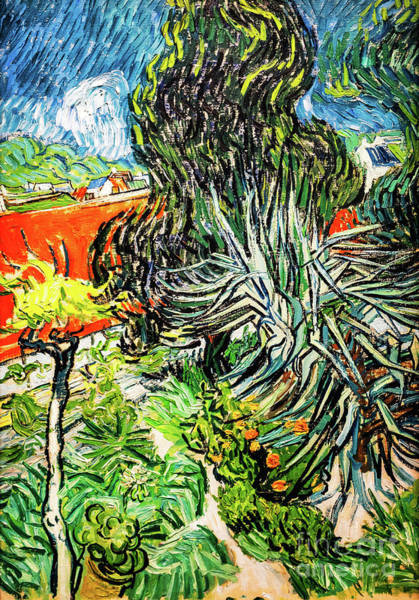 Painting - In The Garden Of Doctor Paul Gachet by Vincent Van Gogh