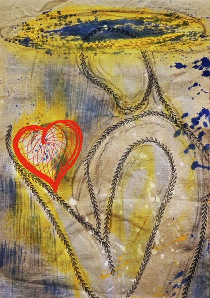 Mixed Media - In The Golden Age Of Love And Lies by Giorgio Tuscani
