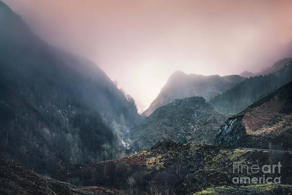 Scottish Landscape Photograph - In The Mist Of The Hills by Evelina Kremsdorf