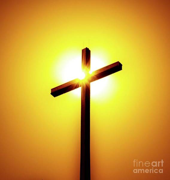 Photograph - In The Shadow Of The Cross by D Davila