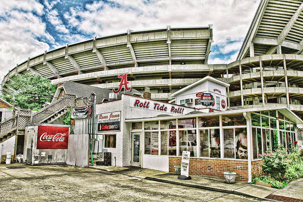 Canon 7d Photograph - In The Shadow Of The Stadium - Hdr by Scott Pellegrin