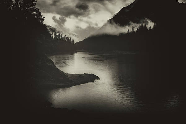 Wall Art - Photograph - In The Shadows Of Shasta Lake by Marnie Patchett