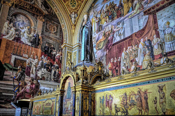 Apostolic Palace Photograph - In The Sistine Chapel by Paul Coco