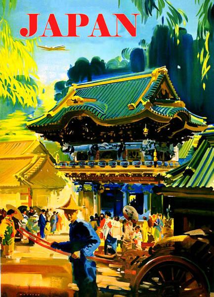 Wall Art - Digital Art - In The Street Of Japan by Long Shot