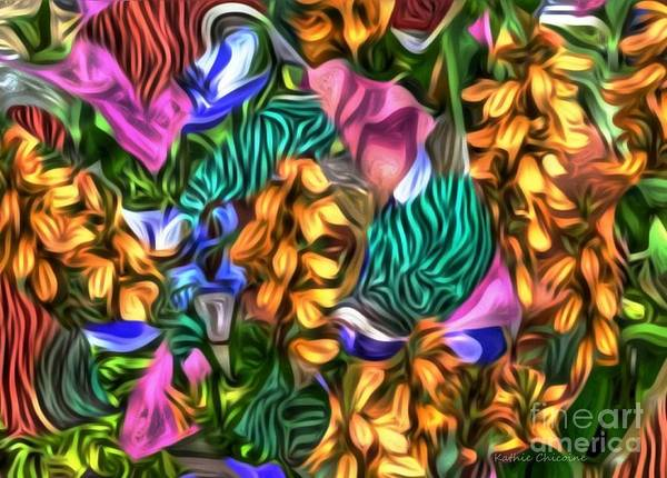Digital Art - In The Tropics by Kathie Chicoine