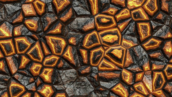 Digital Art - Incredible Stone Wall by Don Northup