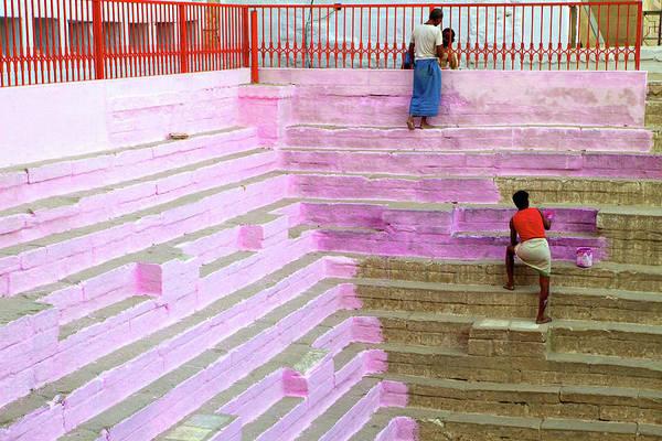 Holi Photograph - Inde, Varanasi by Jmroyphoto