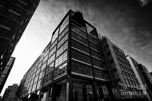 Wall Art - Photograph - Indeed Emea Headquarters Building Capital Docks Dublin Republic Of Ireland by Joe Fox