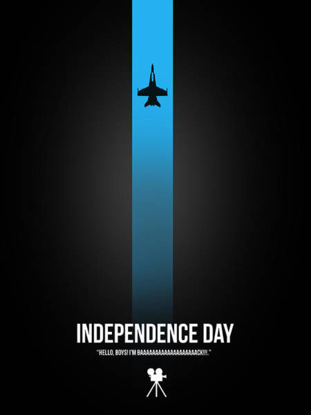 Wall Art - Digital Art - Independence Day by Naxart Studio