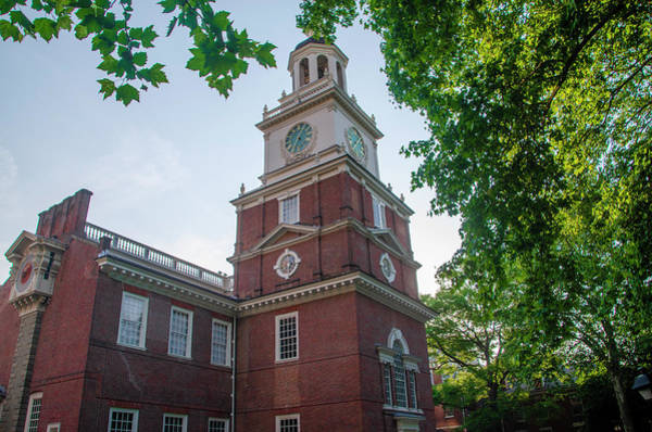Photograph - Independence Hall In June by Bill Cannon