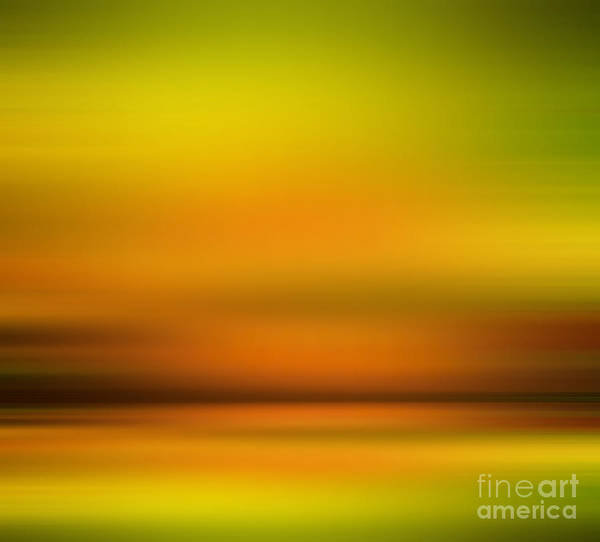 Blast Wave Wall Art - Photograph - India Colors - Abstract Sunset by Stefano Senise