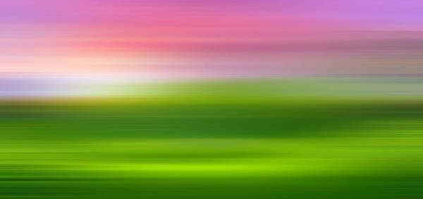 Wall Art - Photograph - India Colors - Abstract Wide Green Panorama by Stefano Senise
