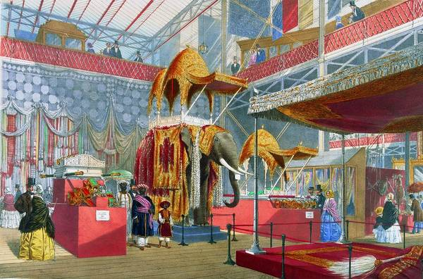 Exhibition Digital Art - India Display by Hulton Archive