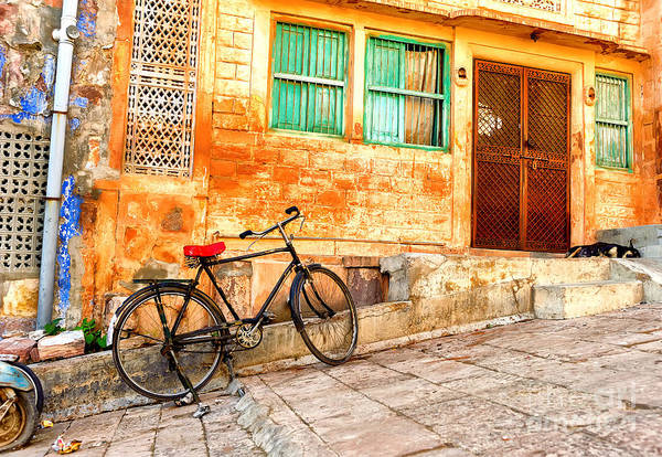 Wall Art - Photograph - India. Indian Street In Rajasthan by Banana Republic Images