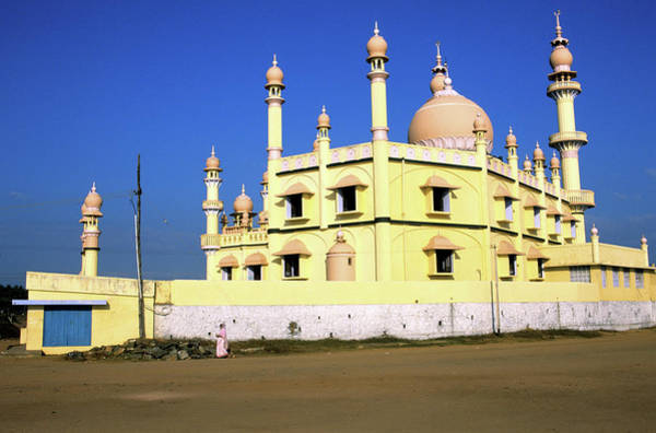 Kerala Photograph - India, Kerala State, Mosque Of The by Guiziou Franck / Hemis.fr