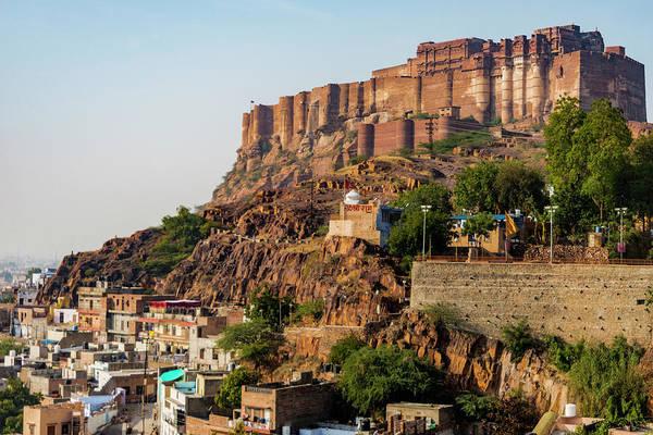 Wall Art - Photograph - India, Rajasthan, Jodhpur by Alison Jones