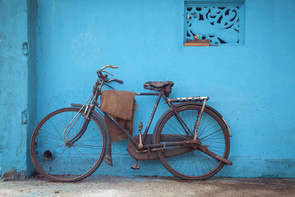 Photograph - Indian Bike by Maria Heyens