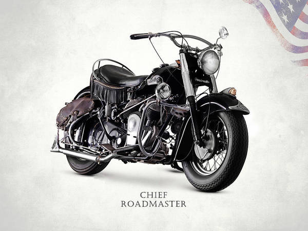 Chiefs Photograph - Indian Chief Roadmaster 1953 by Mark Rogan
