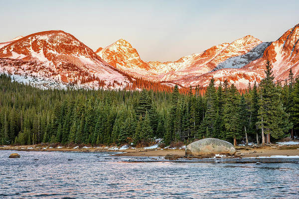 Roosevelt National Forest Photograph - Indian Peaks Sunrise by Eric Glaser