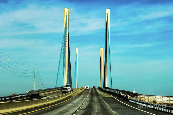 Photograph - Indian River Inlet Bridge Delaware by Thomas Marchessault