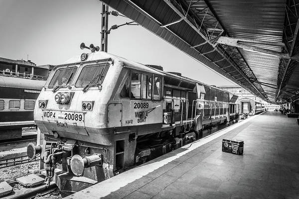 Photograph - Indian Train  by Gary Gillette