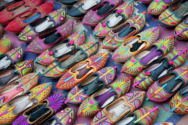 Photograph - Indian Typical Shoes by Massimo Calmonte (www.massimocalmonte.it)
