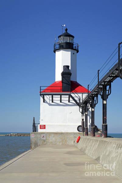 Photograph - Indiana Lighthouse by Ann Horn