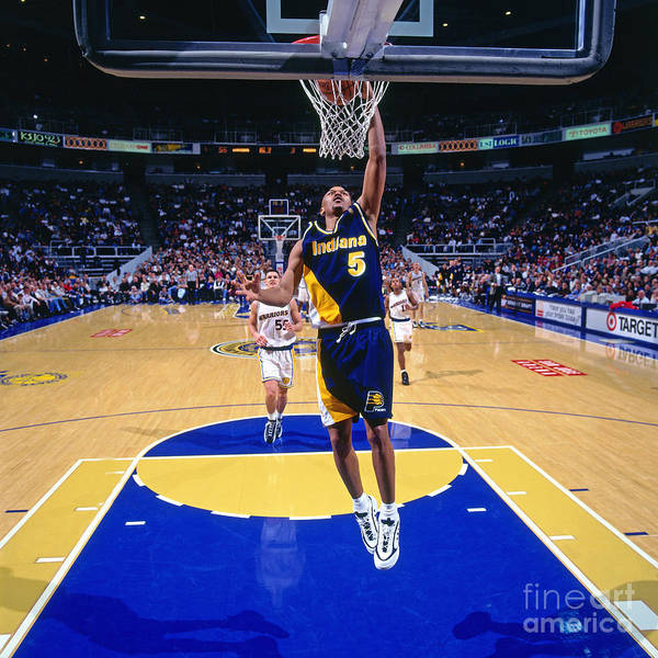 Photograph - Indiana Pacers V Golden State Warriors by Sam Forencich
