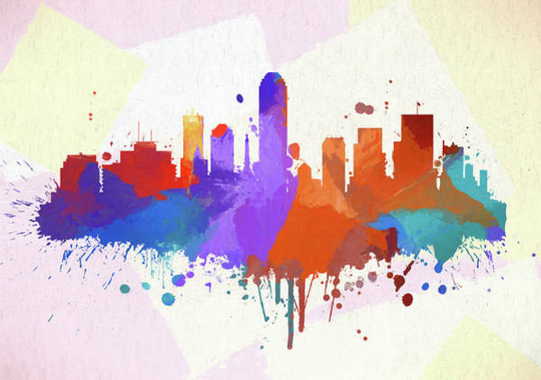 Wall Art - Painting - Indianapolis Color Blast by Dan Sproul
