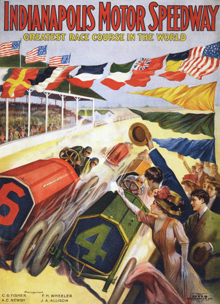 Motor Sport Photograph - Indianapolis Motor Speedway by Graphicaartis