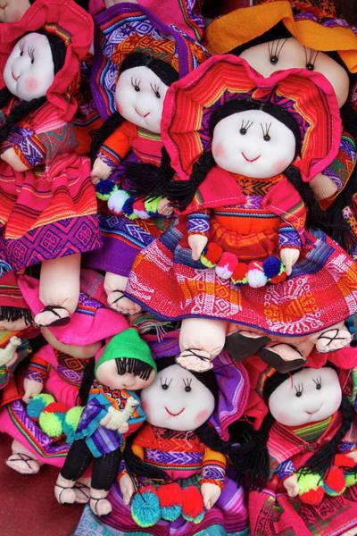Wall Art - Photograph - Indigenous Dolls, Cusco, Peru by David Wall