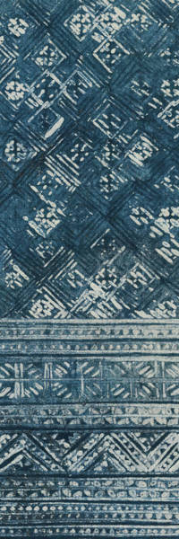 Wall Art - Painting - Indochina Batik I by Wild Apple Portfolio