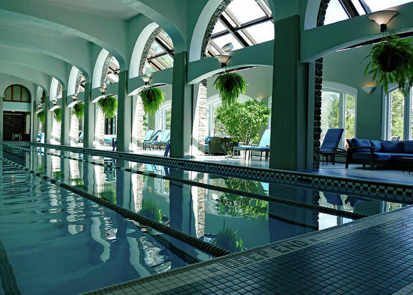 Wall Art - Photograph - Indoor Pool by Patricia Fleury