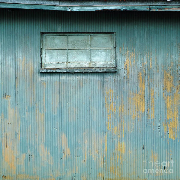 Photograph - Industrial Blue by Patrick M Lynch