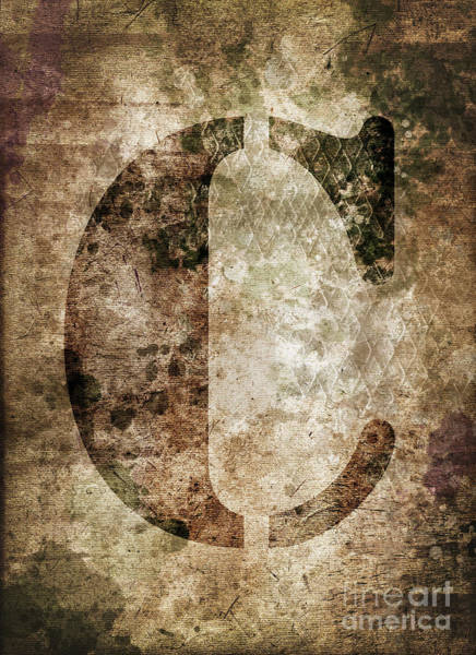 Wall Art - Photograph - Industrial Letter C by Delphimages Photo Creations