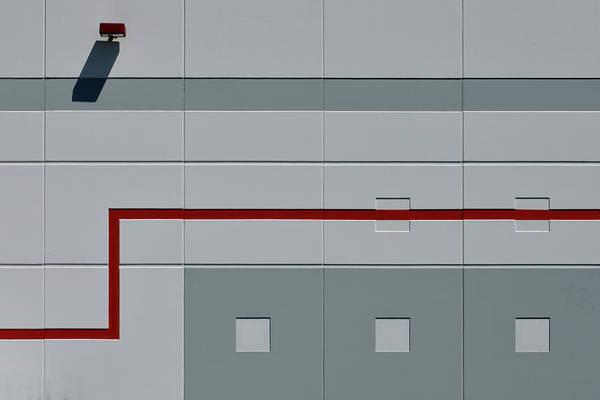 Photograph - Industrial Minimalism 2 by Stuart Allen