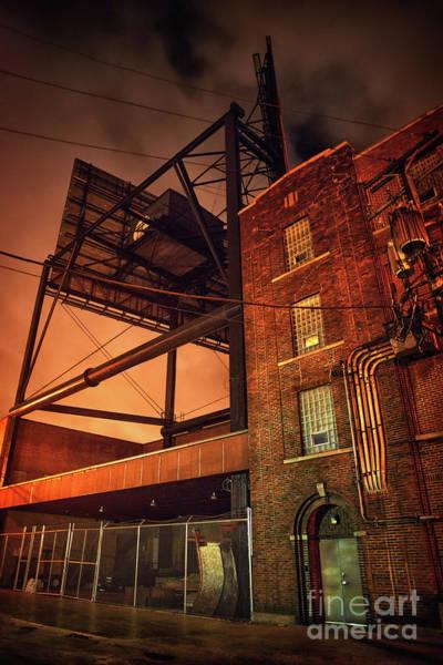 Night Scene Photograph - Industrial Sky by Bruno Passigatti