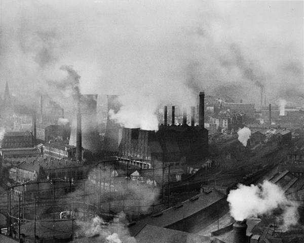 1958 Photograph - Industrial Skyline by Lewis