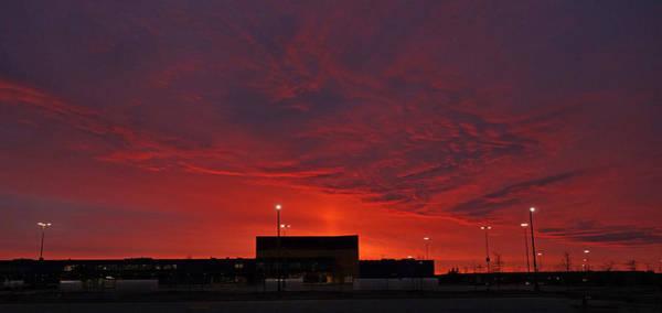 Wall Art - Photograph - Industrial Sunrise by Enrique Guzman