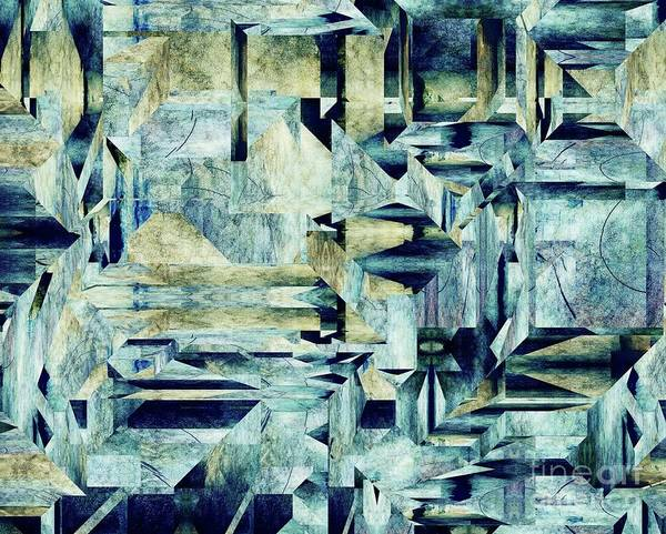 Wall Art - Digital Art - Industriality - 99 by Variance Collections
